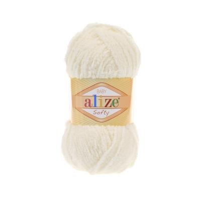 Alize Softy 62 Light Cream (молоко)
