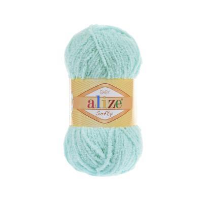 Alize Softy 669 Light Turquoise (светлая бирюза)