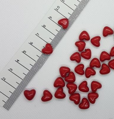 Акриловые бусины Сердце 11 x 10 мм