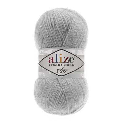 Alize Angora gold Star 21 Grey (серый)