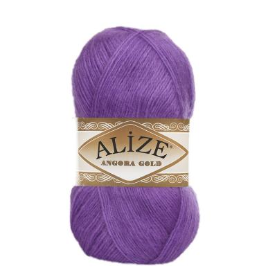 Alize Angora gold 644 Amethyst (фиалка)