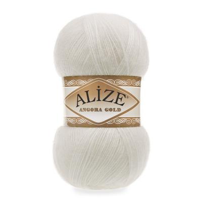 Alize Angora gold 450 Pearl (жемчужный)