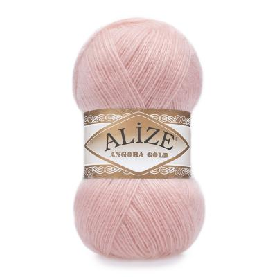 Alize Angora gold 363 Wedding Pink (светло-розовый)