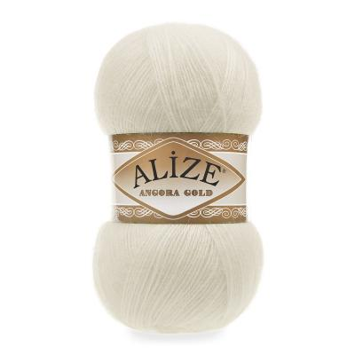Alize Angora gold 01 Cream (кремовый)