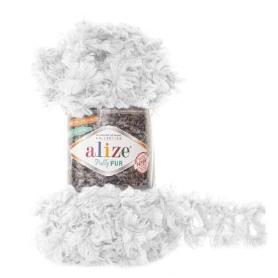 Alize Puffy fur 6100 белый