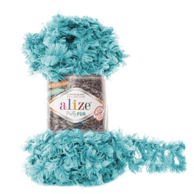 Alize Puffy fur 6119 бирюза