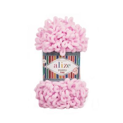 Alize Puffy fine 194 light pink (нежно-розовый)