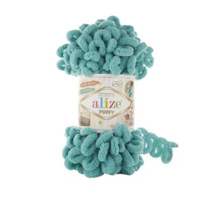 Alize Puffy 457 Aqua (лазуревый)
