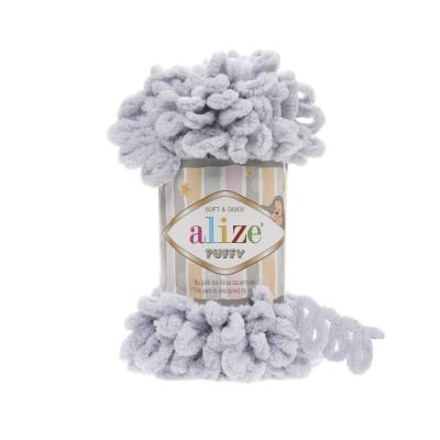 Alize Puffy 416 grey (серый)