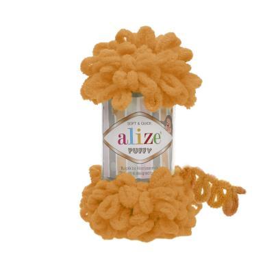 Alize Puffy 336 orange (оранжевый)