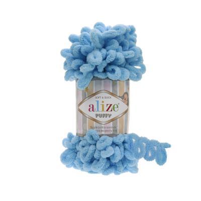Alize Puffy 287 turquoise (св. бирюза)