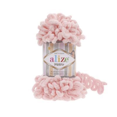 Alize Puffy 340 Powder Pink (пудра)