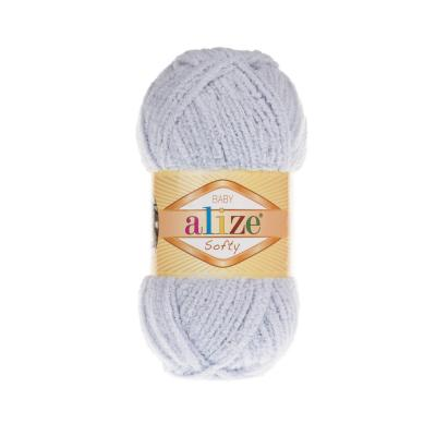 Alize Softy 416 Light Grey (серый)