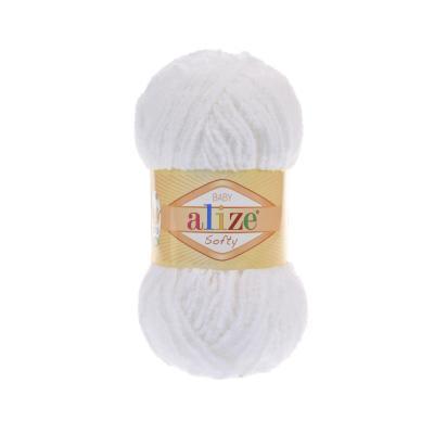 Alize Softy 55 White (белый)
