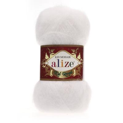 Alize Mohair Kid Royal 50 55 White (белый)