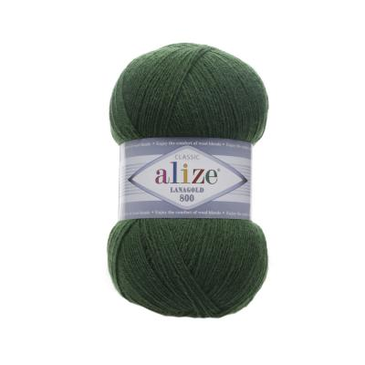 Alize Lanagold 800 118 зелень