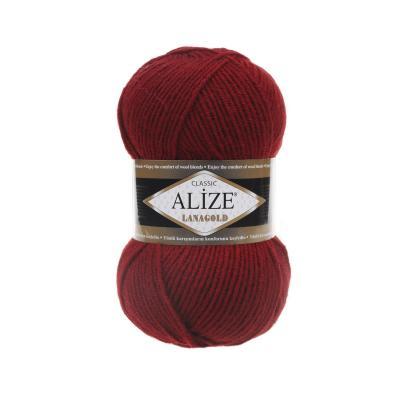 Alize Lanagold 538 Crimson (темно-красный)