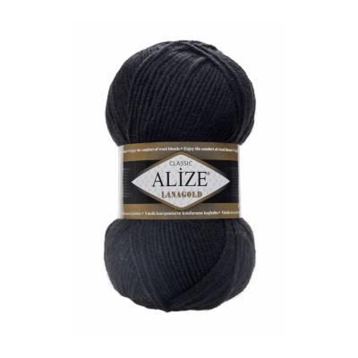Alize Lanagold 60 Black (черный)