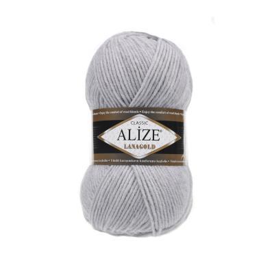 Alize Lanagold 684 Optical Melange (серый меланж)