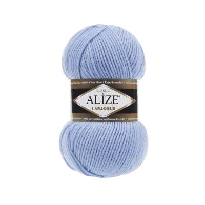 Alize Lanagold 40 Light Blue (светло голубой)