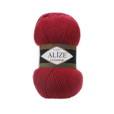 Alize Lanagold 56 Red (красный)