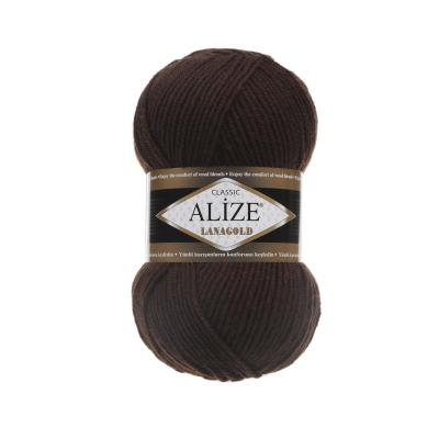 Alize Lanagold 26 Brown (коричневый)