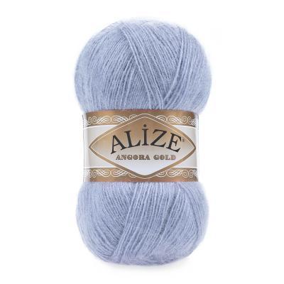 Alize Angora gold 40 голубой