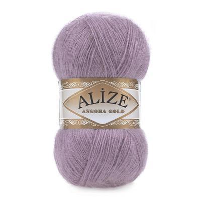 Alize Angora gold 312 темно лиловый