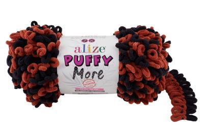 Alize Puffy More 6262 терракот/черный