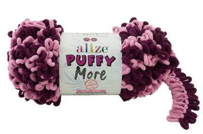 Alize Puffy More 6278 розовый/цикламен