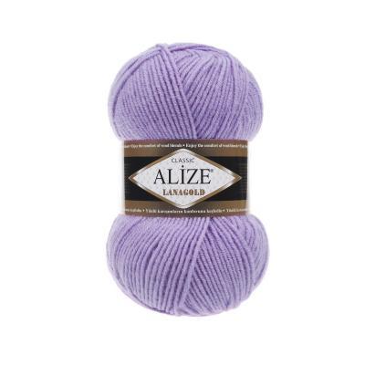 Alize Lanagold 166 лиловый