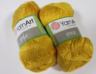 YarnArt Style 657 желтый