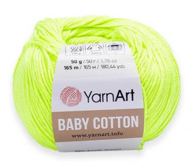 Yarnart Baby Cotton 430 лайм
